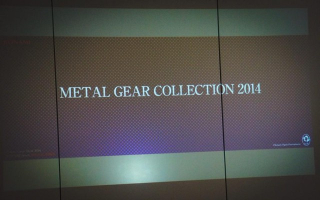 TGS – La Metal Gear Collection
