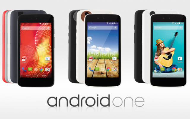 Android One : 3 smartphones annoncés