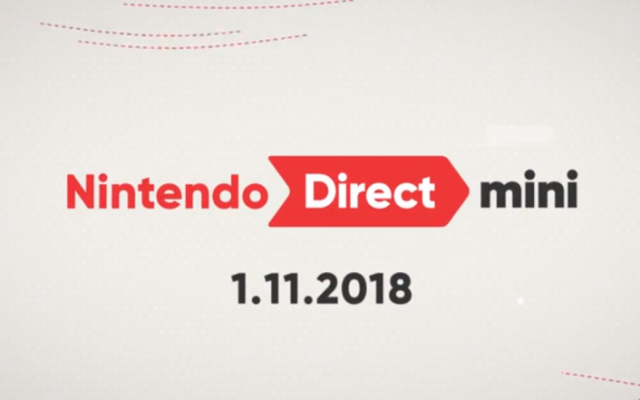 Nintendo Direct Mini 2018