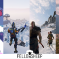 Des montagnes dans Celeste, Fortnite, God of War et Red Dead Redemption 2